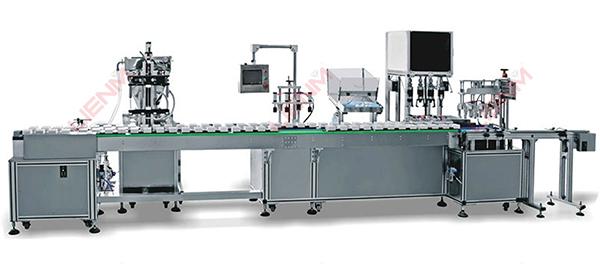 自动液体灌装机的结构