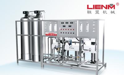 LM-RO-B二级反渗透纯水装置(不锈钢桶/石英砂过滤)