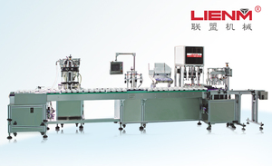 Automatic lotion/cream filing&capping machine