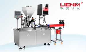 Lotion cream filling&capping machine