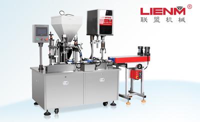 LM-SRG-A水乳膏灌装旋盖一体机