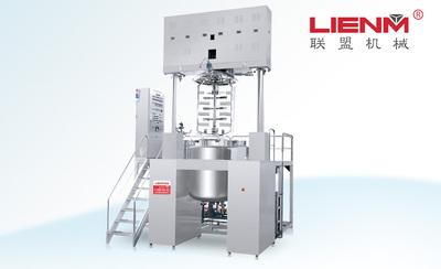 LM-S-ZN-D智能型真空乳化机(按键式/上均质/升降式)