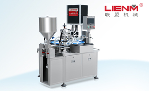 Small volume filling&capping machine