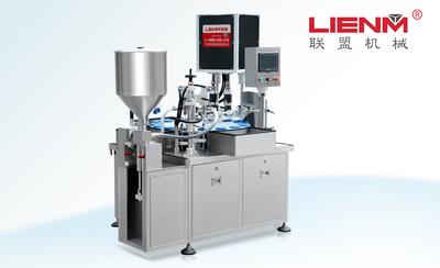 LM-ZPGX小容量灌装旋盖一体机