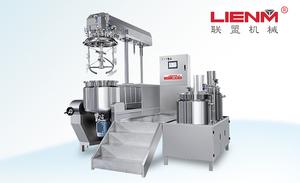 LM-S-ZRG-A真空乳化机(下均质/500L)
