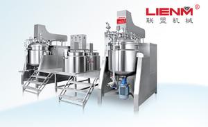LM-S-ZRG-B可倾式内外循环真空均质乳化机(双锅组合)