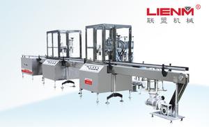 LM-QWJ-C 全自动气雾剂灌装旋盖机