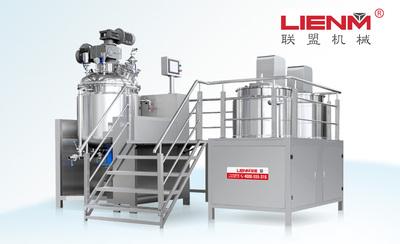 LM-G-ZRG-B固定式内外循环真空均质乳化机
