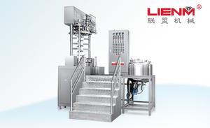LM-S-ZN-D智能型真空乳化机(按键式/下均质/可倾倒)